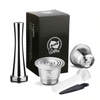 PODS - Stainless Steel Refillable Coffee Capsule Set