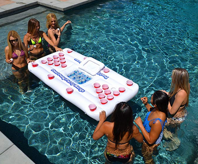 Beer Pong Floa-table by SIA