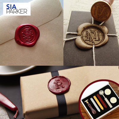 Regal Wax Stamp Kit by SIA