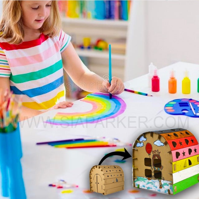 Kids DIY Construct & Paint Set by SIA