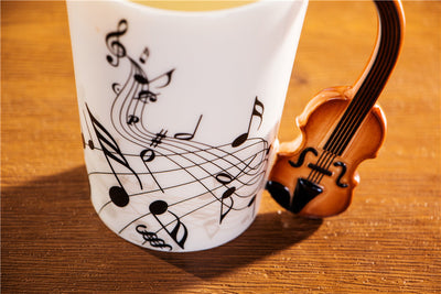 400ml Creative Music Mug by SIA (Set of 2)