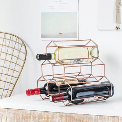 Honeycomb Wine Rack by SIA