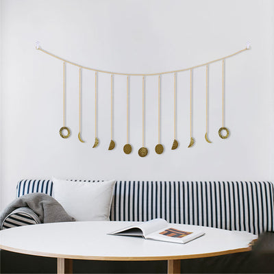 Moon Phase Hanging Garland by SIA