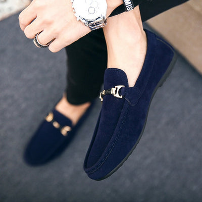 Mens Suede Loafers by SIA