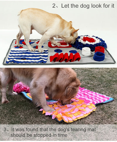Interactive Dog Snuffle Mat