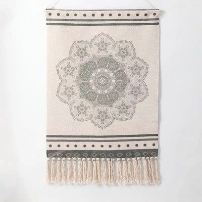 Geometric Hanging Tapestry Macrame by SIA