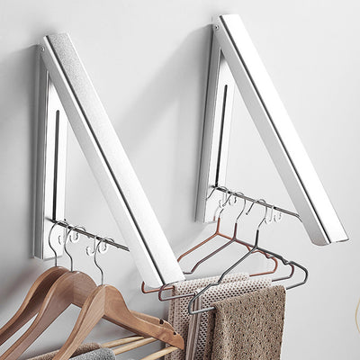 SpaceSaver Wall Mounted Clothes Hanger (Set of 2)