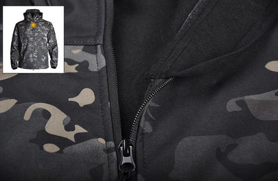 CAMO Tactical Jacket Army Pants Set by SIA