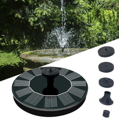 Solar Powered Fountain by SIA