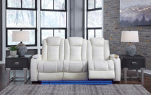 Load image into Gallery viewer, Time Power Reclining Sofa with Adjustable Headrest