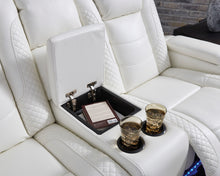 Load image into Gallery viewer, Party Time Power Reclining Loveseat with Console and Adj Head