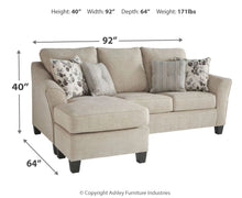 Load image into Gallery viewer, Abney Sofa Chaise