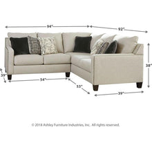 Load image into Gallery viewer, Hallenberg 2-Piece Sectional