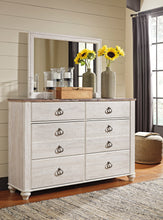 Load image into Gallery viewer, Willowton Dresser &  Mirror
