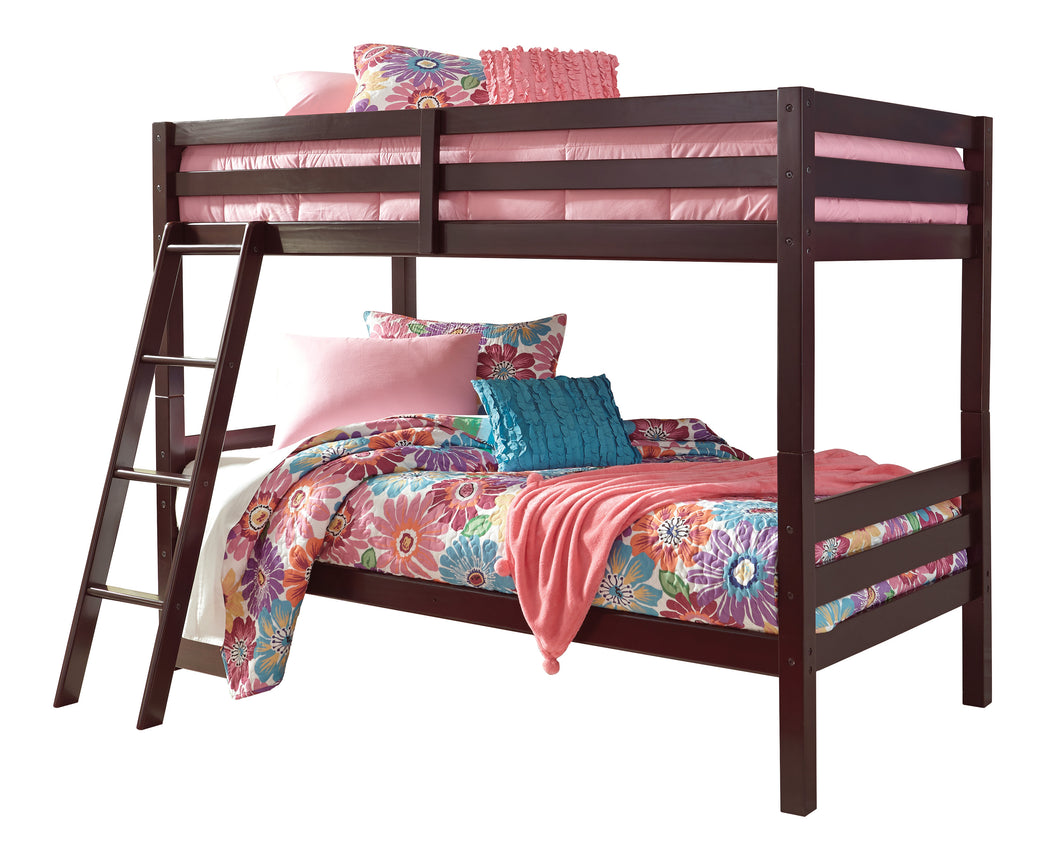 Halanton Twin/Twin Bunk Bed w/Ladder