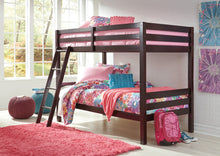 Load image into Gallery viewer, Halanton Twin/Twin Bunk Bed w/Ladder