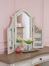 Load image into Gallery viewer, Realynn Vanity, Mirror & Stool