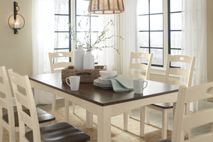 Woodanville 7 Piece Casual Dining