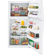 Load image into Gallery viewer, GE 21.2 cu.ft. Top Freezer Refrigerator White