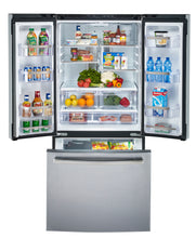 Load image into Gallery viewer, GE Profile 20.8 Cu. Ft. Energy Star French Door Refrigerator with Factory Installed Icemaker Slate