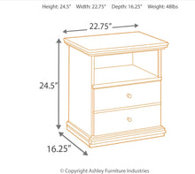 Load image into Gallery viewer, Maribel Nightstand -CLEARANCE