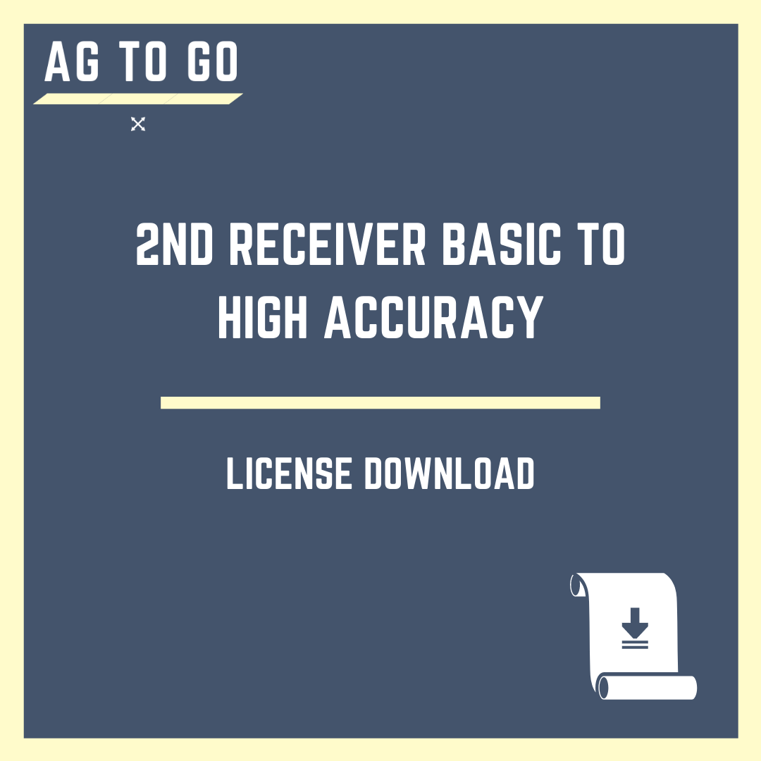 License, 2nd Receiver Basic to High Accuracy w/ TMX-2050™