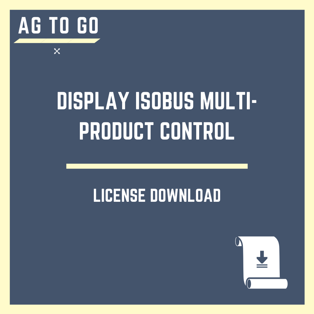 Display ISOBUS Multi-Product Control
