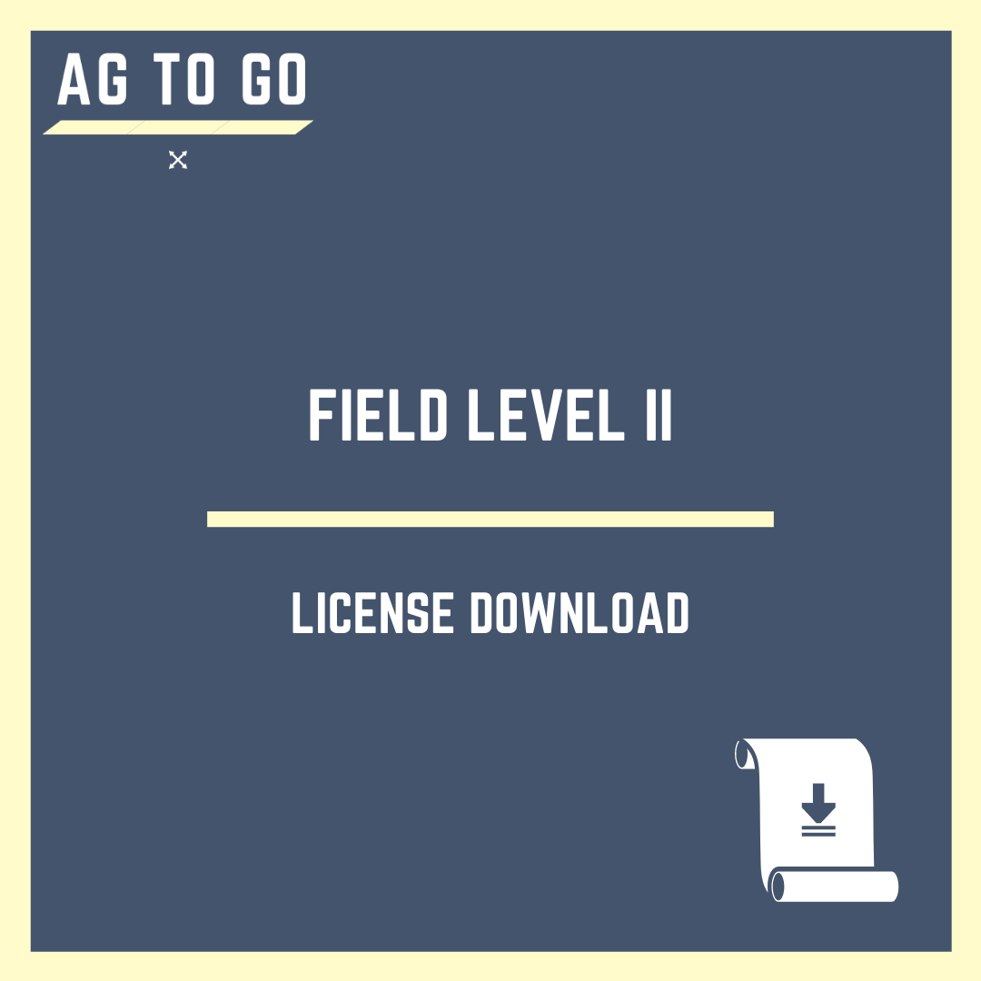 License, Display FieldLevel II
