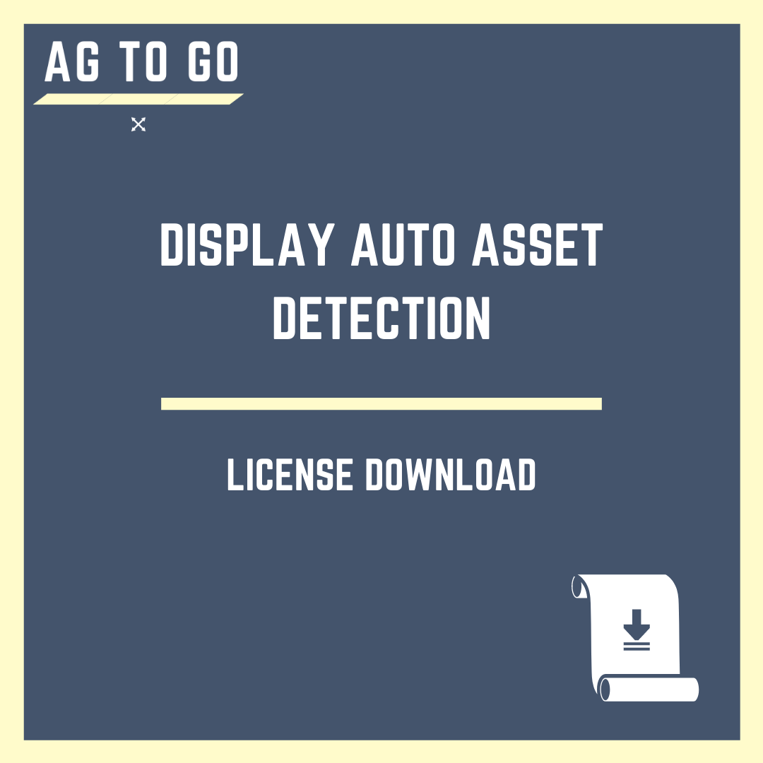 License, Display Auto Asset Detection