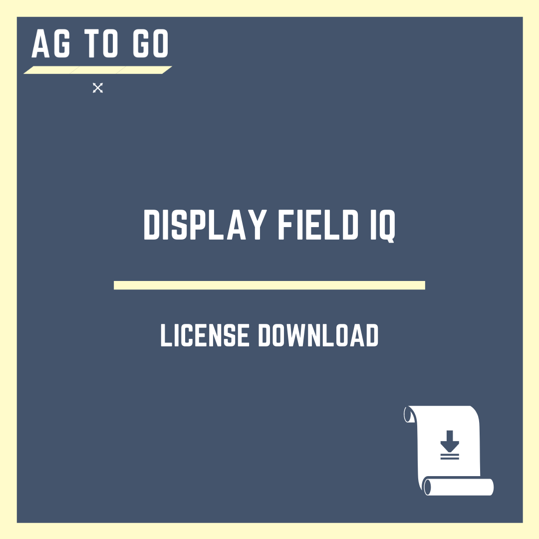 License, Display Field IQ