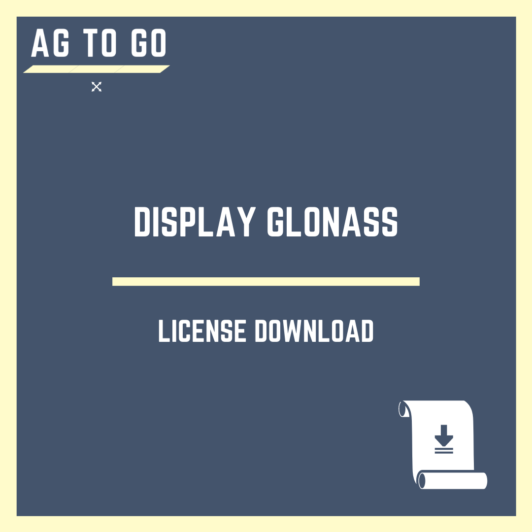 License, Display GLONASS