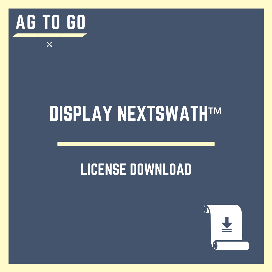 License, Display NextSwath™