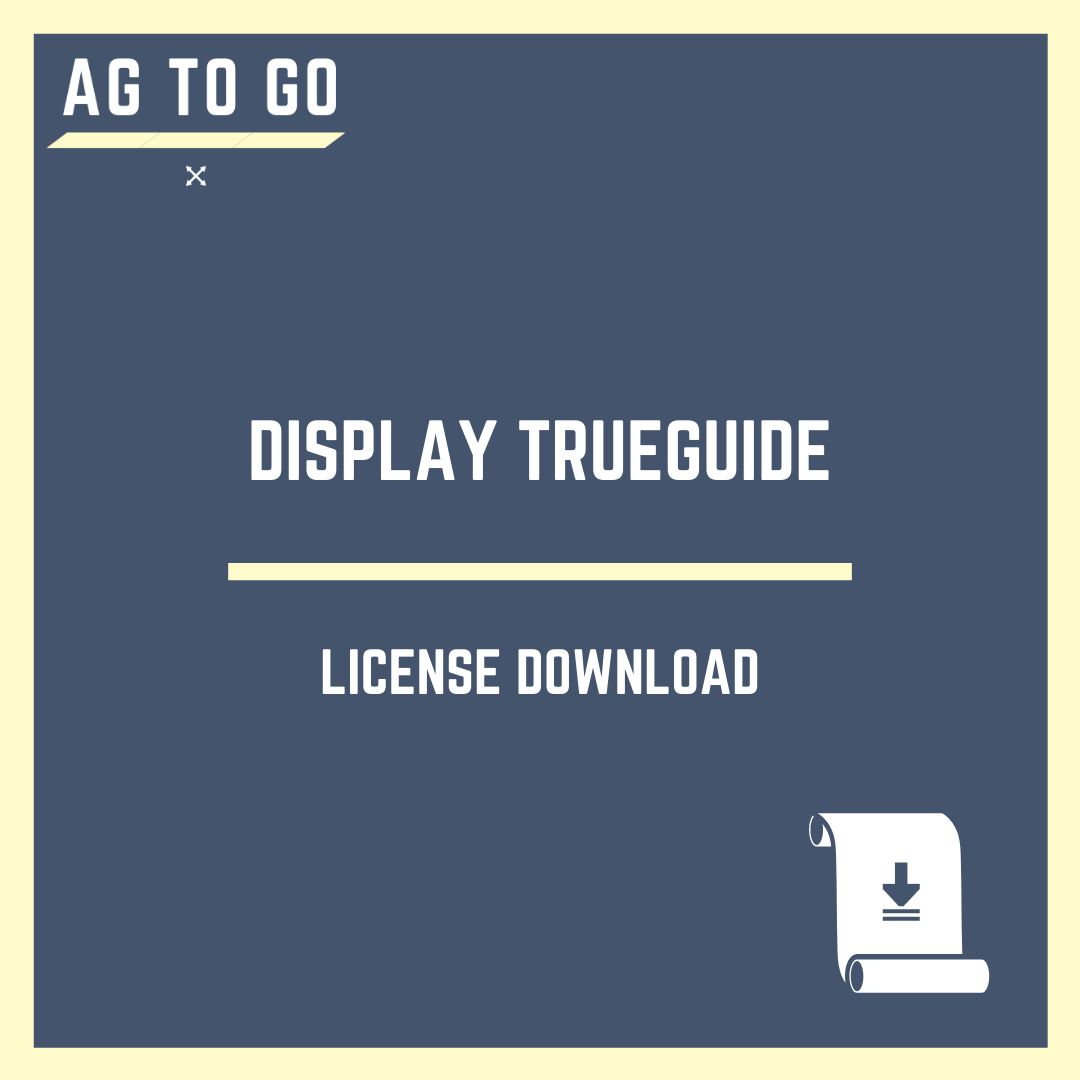 License, Display TrueGuide