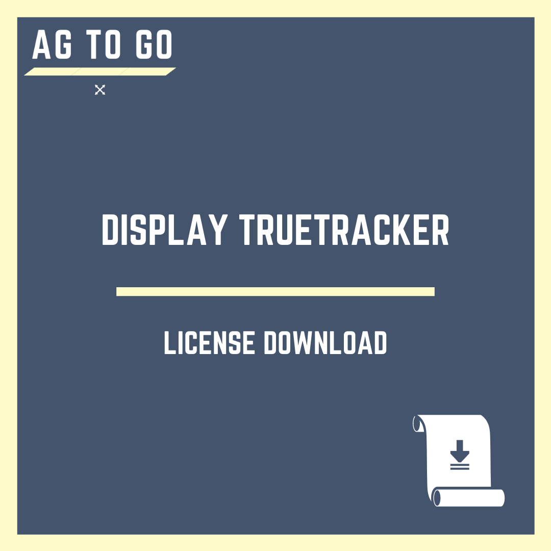 License, Display TrueTracker