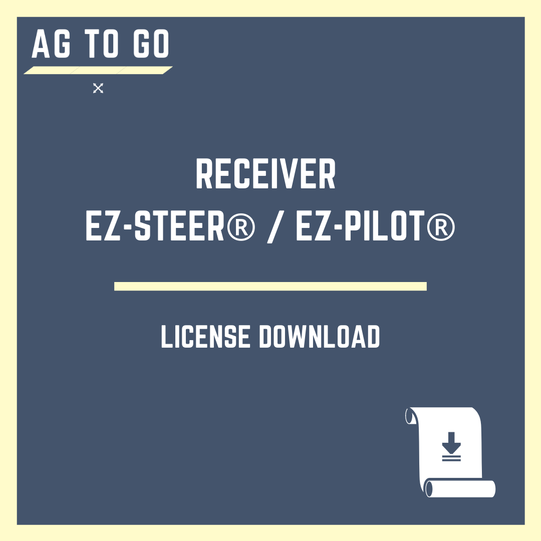 License, Receiver EZ-Steer® / EZ-Pilot® For GFX™ Displays
