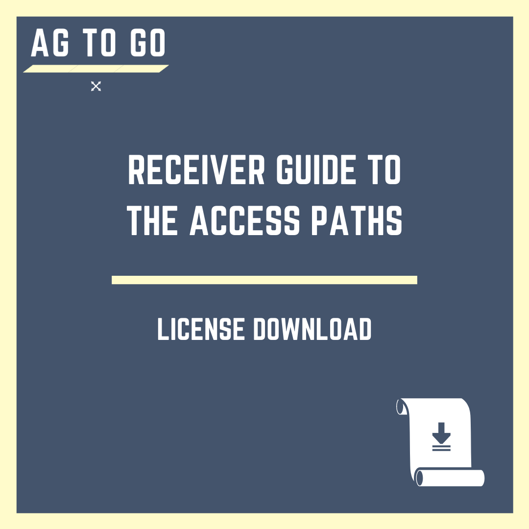License, Receiver Guide to the Access Paths