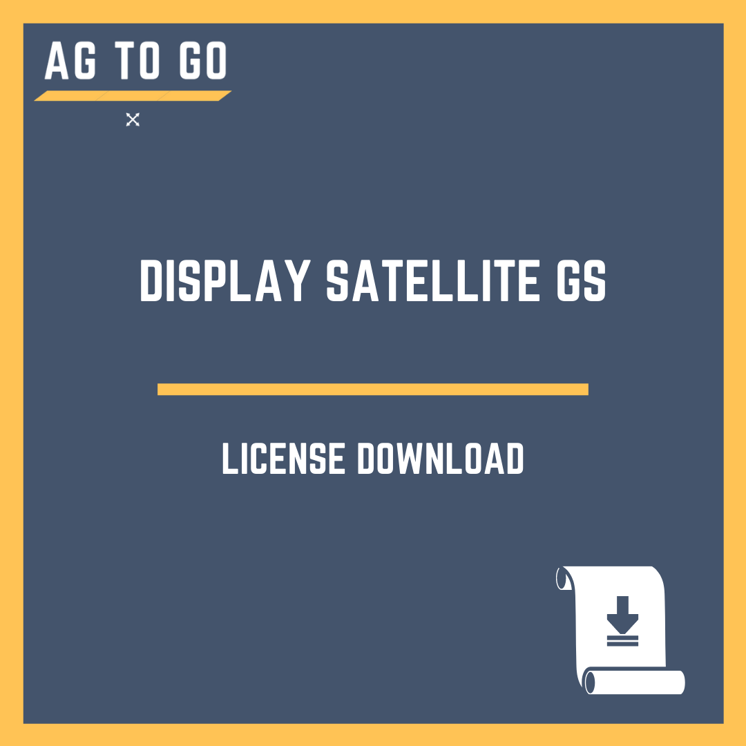 License, Display Satellite GS