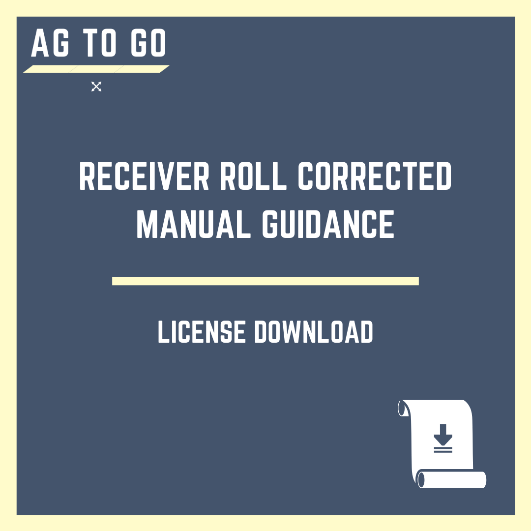 License, Receiver Roll Corrected Manual Guidance