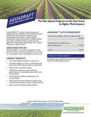 Aquadraft™ Water Conditioning Agent & Nonionic Surfactant