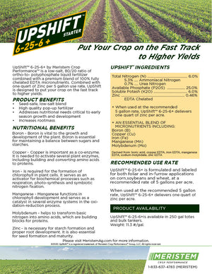 Upshift™ 6-25-6+ Pop-Up Fertilizer