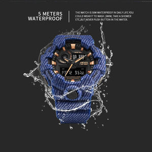SMAEL Military Watches 50m Waterproof - agearpie