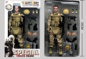 Desert Yellow Action Figure