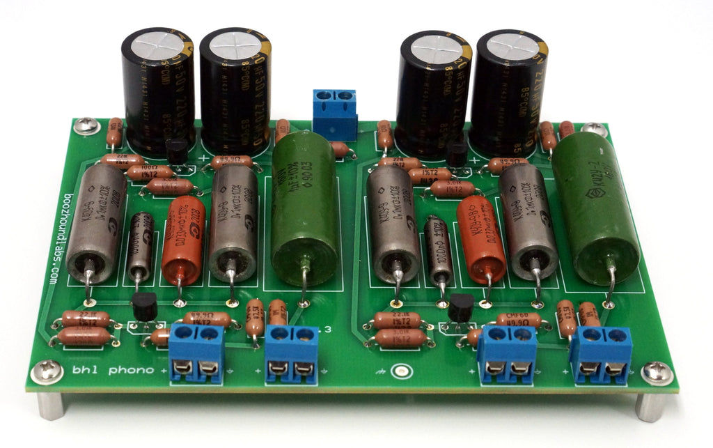 JFET Phono/RIAA Preamplifier kit – Boozhound Laboratories