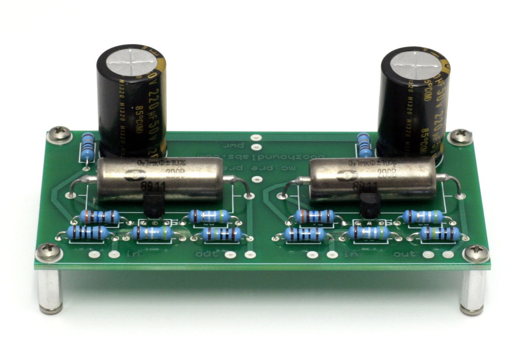 JFET Moving Coil Pre-Preamp kit