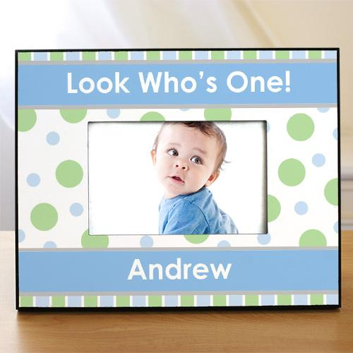 1st Birthday Personalized Printed Picture Frame-Personalized Gifts