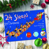 24 Sleeps 'til Christmas Personalized Book-Personalized Gifts