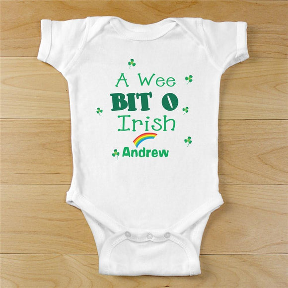 A Wee Bit O Irish Infant Outfit-Personalized Gifts