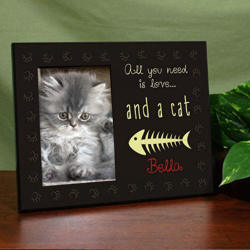 all you need is a cat frame-Personalized Gifts