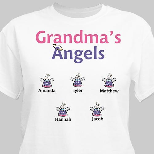 Angel T-shirt-Personalized Gifts