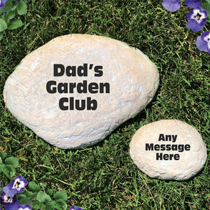 Any Message Garden Stone-Personalized Gifts